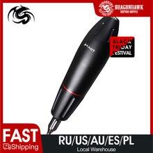 Yeni döner dövme tabancası güçlü Motor kaynağı yüksek kalite kartuşları dövme kalem malzemeleri