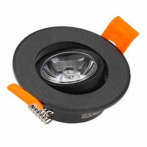 Image 3 - 10pcs Round Adjustable LED Dimmable Downlight Super Bright Recessed 3W LED Spot light LED decoration Ceiling Lamp AC110V 220V