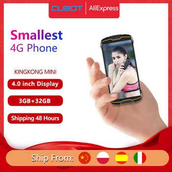 Cubot KingKong MINI 4 QHD + 18:9 Bildschirm Kleines Smartphone Outdoor Handy 4 Zoll Smartphone ohne Vertrag Robuste Telefon Wasserdicht Android 9,0 2000mAh 4G LTE Dual-SIM 3GB + 32GB Hinten Kamera 13MP
