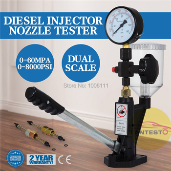 FOR BOSCH DENSO DELPHI CAT SIMENS Diesel Common Rail Injector Nozzle Tester Repair Tools Supply Pressure 0-60Mpa