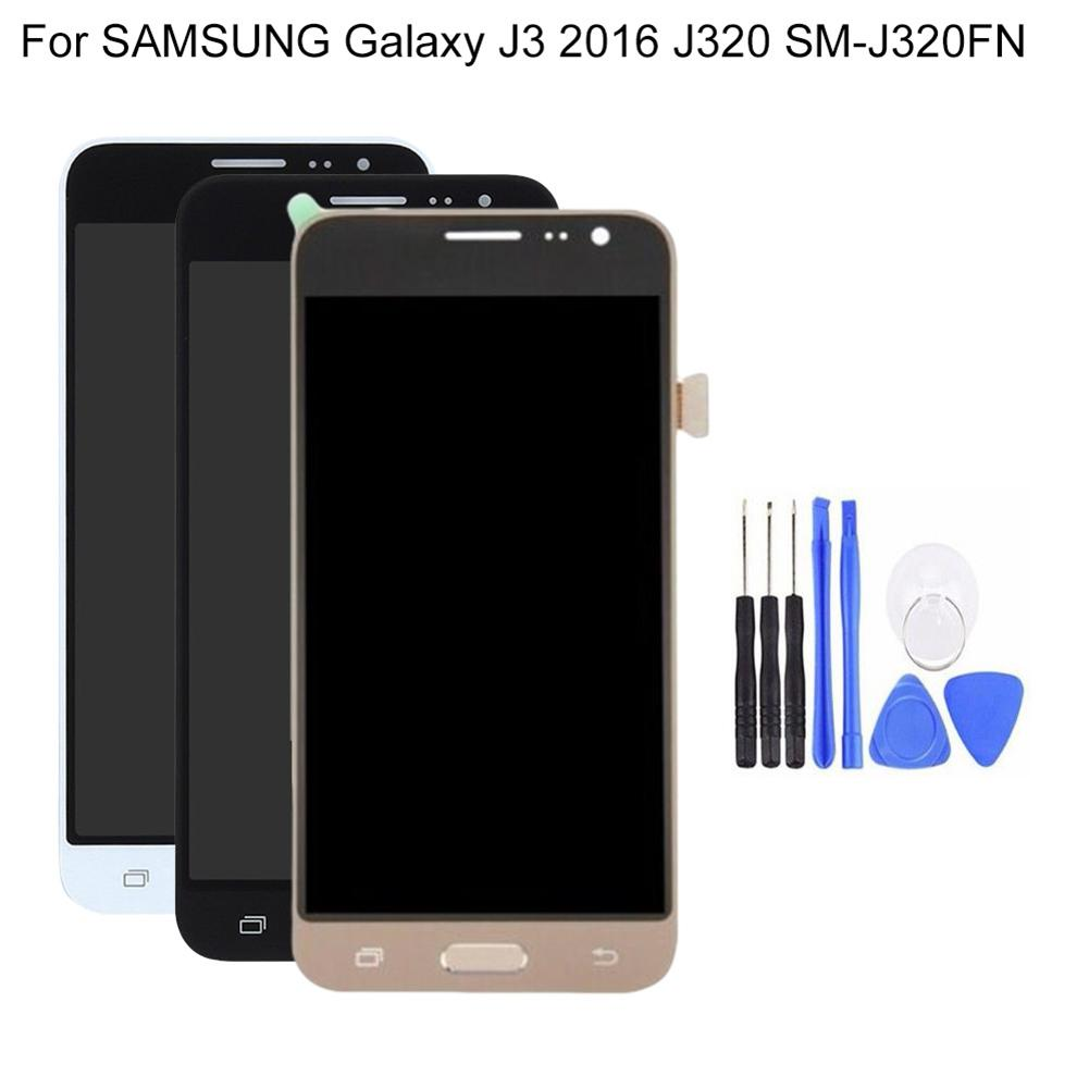 <font><b>LCD</b></font> for <font><b>Samsung</b></font> Galaxy J3 2016 J320 <font><b>SM</b></font>-<font><b>J320FN</b></font> <font><b>LCD</b></font> Display Screen Touch Digitizer image