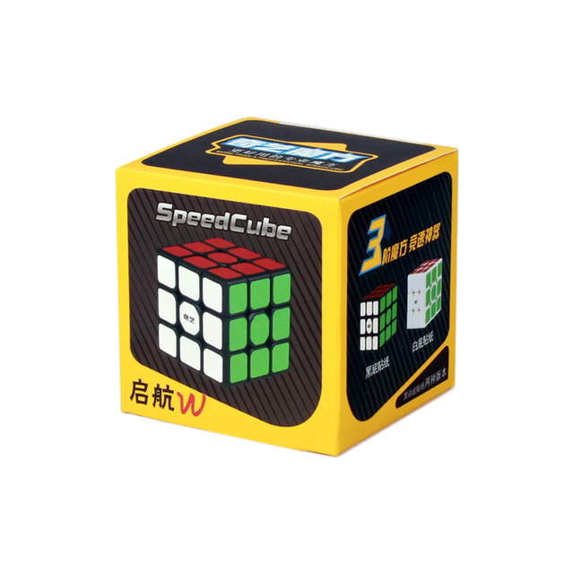 QiYi Sail W 3x3x3 Magic Speed Cube Professional Warrior S 3×3 Cube Stickerless Puzzle Cubes Educational Toys For Children