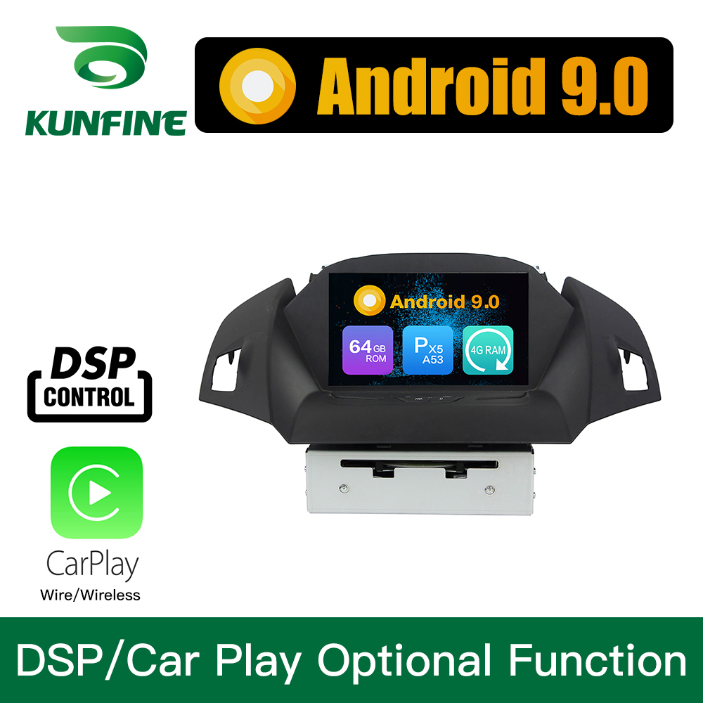 Android 9.0 Octa Core 4GB RAM 64GB Rom Car DVD GPS Multimedia Player Car Stereo for Ford KUGA 2013-2018 Radio Headunit