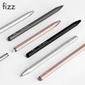 Fizz Metall Gel Stift mit Schwarz Refill 0,5 MM Tinte Polygonal Aluminium Legierung Federhalter für Büro Studenten Business Stifte