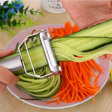Kitchen Gadget Grater Potato Peeler Vegetable Carrot Cucumber Fruit Stainless-Steel Planing