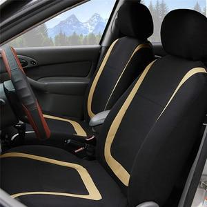 Image 5 - אוטומטי מכונית אביזרי רכב סטיילינג אוניברסלי גודל רכב מושב מגן מחצלת כרית בד רכב מושב מכסה רכב מכסה עבור Bmw אאודי פולקסווגן