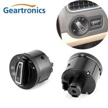 цена на New AUTO Headlight Head Lamp Switch Light Sensor Module Upgrade For VW Golf Jetta MK5 6 Tiguan Touran Passat Scirocco