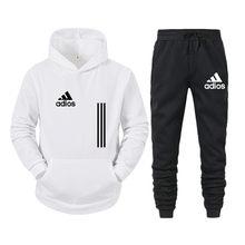 2021 nova primavera quente marca grosso hoodies ternos agasalho amantes da moda dos homens/mulheres esportes fitness treino camisolas