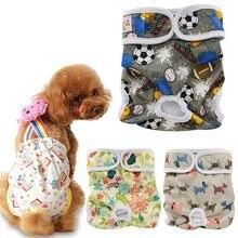 Ohbabyka fralda, calcinhas sanitárias reutilizáveis laváveis, calcinhas femininas, roupa interior, macacão para cães s m g