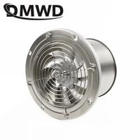 DMWD 6 Inch Rvs Uitlaat Fan 6 ''Wc Keuken Badkamer Opknoping Muur Raam Duct Ventilator Lucht Ventilator Extractor blower