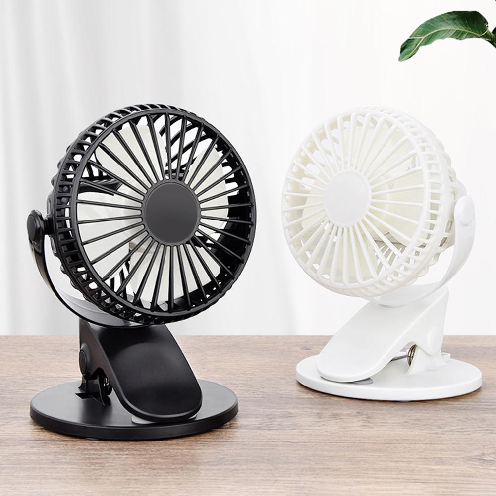 Portable Mini Fan Rotatable USB Powered Table Fan Desktop Fan Low Noise Desktop Cooling Fan For Home Office Air Cooling Fan