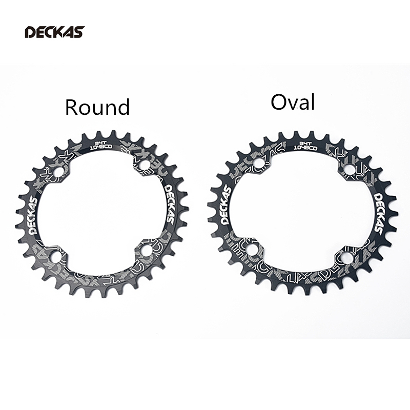 Deckas Round 104bcd 32/34/36/38T/40T/42T Mountain MTB Bicycle bike Narrow Tray Wide Chainring for M370 M410 M610 M615 M670 M780 image