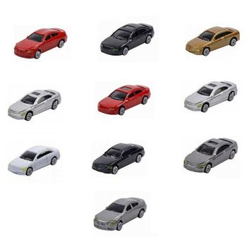 50pcs HO Scale Model Car 1:87 Building Train Scenery NEW C100 E06F image