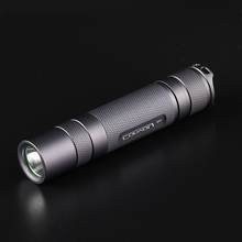 LED Flashlights Torch Convoy S2+ Gray EDC tactical Flashlight Torch Lantern for Bike Self Defense,Camping Light,Lamp Bicycle