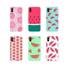 For Huawei G7 G8 P8 P9 P10 P20 P30 Lite Mini Pro P Smart Plus 2017 2018 2019 Fruit watermelon Accessories Phone Shell Covers(China)