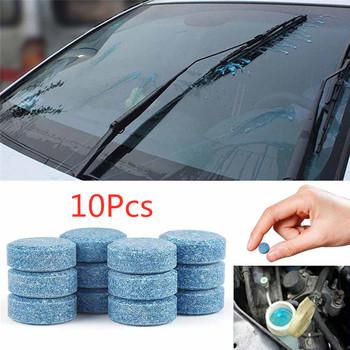 10 sztuk wielofunkcyjny samochód Cleaner kompaktowy szklany podkładka Detergent tabletki musujące akcesoria samochodowe akcesoria samochodowe TSLM2 tanie i dobre opinie CAR-partment CN (pochodzenie) COTTON Effervescent Tablets