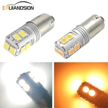 2x 3W 12-24V Super Bright BA9S Led Bulb Car Auto LED T4W Wedge 3030 Bax9s Bay9s Turn Signal Backup Lamp Parking DRL 3000K 6000K