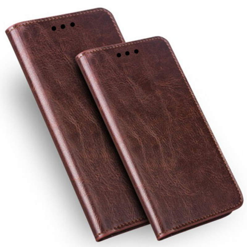 Luxury Crazy Horse Retro Genuine Leather Magnetic Phone <font><b>Cases</b></font> For <font><b>OPPO</b></font> A9 <font><b>2020</b></font>/<font><b>OPPO</b></font> <font><b>A5</b></font> <font><b>2020</b></font> Holster Cover Coque Stand Funda image