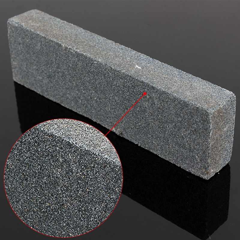 Portable Pengasah Pisau Premium Batu Asah Pisau Mengasah Batu Asah Non-Slip Bambu Sudut Dasar Panduan Perataan Batu Kit