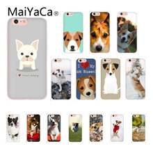 MaiYaCa JACK Russell Terrier สุนัข DIY Luxury High-end สำหรับ iPhone 8 7 6 6S PLUS X XS MAX 5 5S SE XR 11 11pro PROMAX(China)