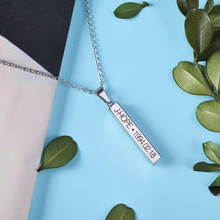 KPOP Necklace Bangtan Boys Jimin JIN J-Hope Suga Steel Pendant Chain Wings Accessories Jewelry 2019 cheap MONSTA X Stainless Steel lovers Pendant Necklaces TRENDY Link Chain Metal geometric All Compatible Party Fitness Tracker