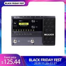 MOOER GE150 דיגיטלי מגבר מנורות דוגמנות גיטרה Multi אפקטי פדאל מעבד 55 AMP מודלים 9 סוגי השפעה הקלטת לולאה (80S)
