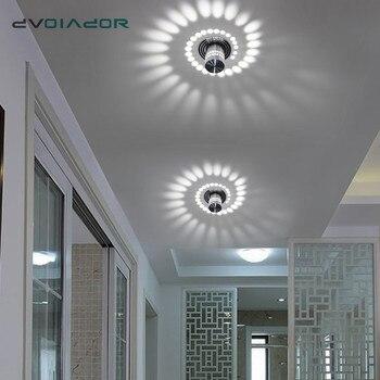 LED Downlight de Bâti de Surface de Plafond lumière LED Moderne KTV de Partie de Barre de Lumière de Tache de RVB pour Couloir Salon Luminaire