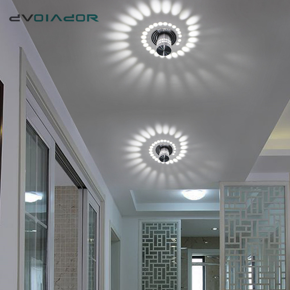 Oprawa LED typu downlight montaż powierzchniowy LED Light nowoczesne oświetlenie barowe KTV oświetlenie na imprezę RGB światło punktowe na korytarz oświetlenie do salonu oprawa