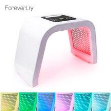 ForeverLily новейший Pro 7 цветов фотон pdt светодиоды маска для лица Омоложение осветление морщин укрепляющий уход за кожей лица Красота Лечение