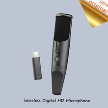 Neue Youpin Wireless Handheld Mikrofon Karaoke Lautsprecher KTV Musik Player Singen HD Noise Reduktion Tragbare Mikrofon Für Android IOS