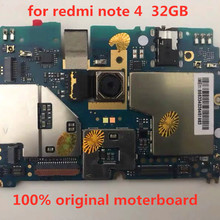 for Redmi Note-4/Motherboard/100%original/Unlocked ID Full-Working Without-Touch 32GB