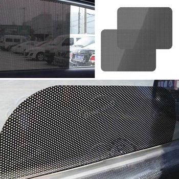 Car Side Window Sunshades Sunscreen Film Sticker for Bmw E46 E39 Audi A3 A6 C5 A4 B6 Mercedes W203 W211 Mini Cooper image