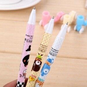 Image 3 - 50 יח\סט קוריאה מצחיק כתיבה קטנוע קריקטורה כדור נקודת עט תלמידי בית הספר יסודי מתנות creative משרד עטים עבור כתיבה