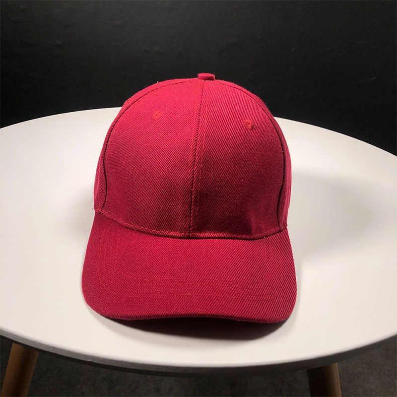 Mùa Hè 2020 Hot Cotton Mũ Bóng Chày Có Mũ Màu Trơn Nhiều Màu Unisex Nữ Nón Mũ Lưỡi Trai Bóng Chày Trang Bị Nón Snapback Áo Mũ Lưỡi Trai