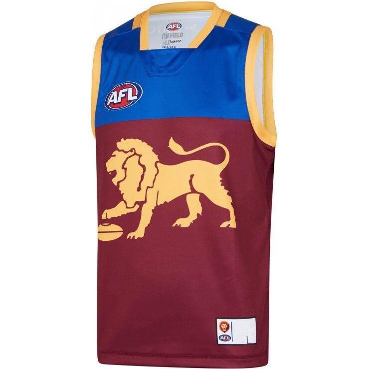 AFL BRISBANE LIONS 2019 MEN'S HOME JERSEY size S-3XL Print custom names and numbers Top quality Free shipping(China)