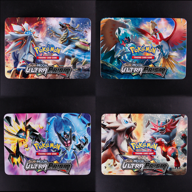 100Cards/box Sun&Moon GX MEGA Pokemon Shining Cards Game Battle Carte Trading Cards Game Children Pokemons Toy