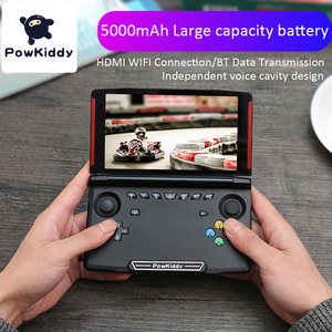 Image 2 - Powkiddy X18 Andriod وحدة تحكم بجهاز لعب محمول 5.5 بوصة 1280*720 شاشة MTK 8163 رباعية النواة 2G RAM 32G ROM فيديو يده لعبة لاعب