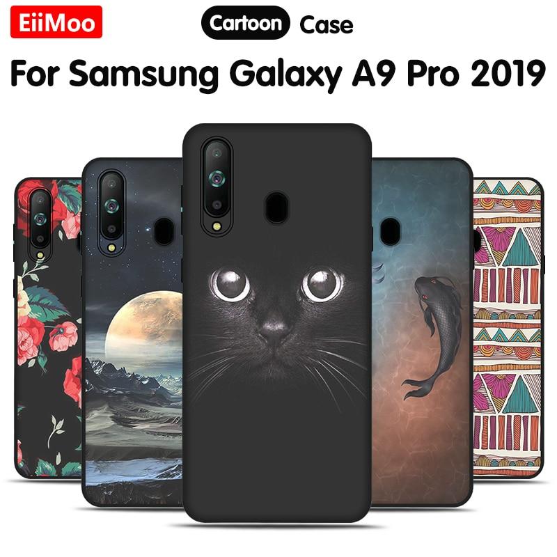 EiiMoo Silicone téléphone étui pour Samsung Galaxy A9 Pro 2019 G887N étui dessin animé couverture arrière souple pour Samsung Galaxy A8s G8870 couverture