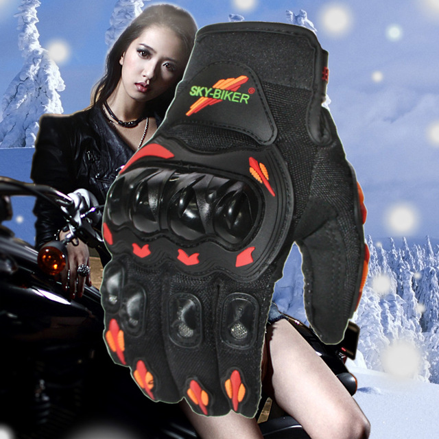 Motorcycle Racing Gloves Outdoor Sports Protection Electric Bicycle Riding Cross Country Racing Gloves C94 1