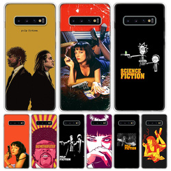 Pulp Fiction Cover Phone Case For Samsung Galaxy A51 A71 A50 A10 A20E A30 A40 A70 M30S A01 A21 A6 A7 A8 A9 Plus + Coque