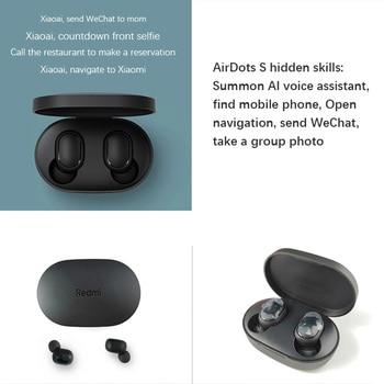 New Original Xiaomi Redmi AirDots 2 Wireless Earphone Bluetooth 5.0 Headset Mi Ture Wireless Headphones Earbuds In-Ear Earphones 3