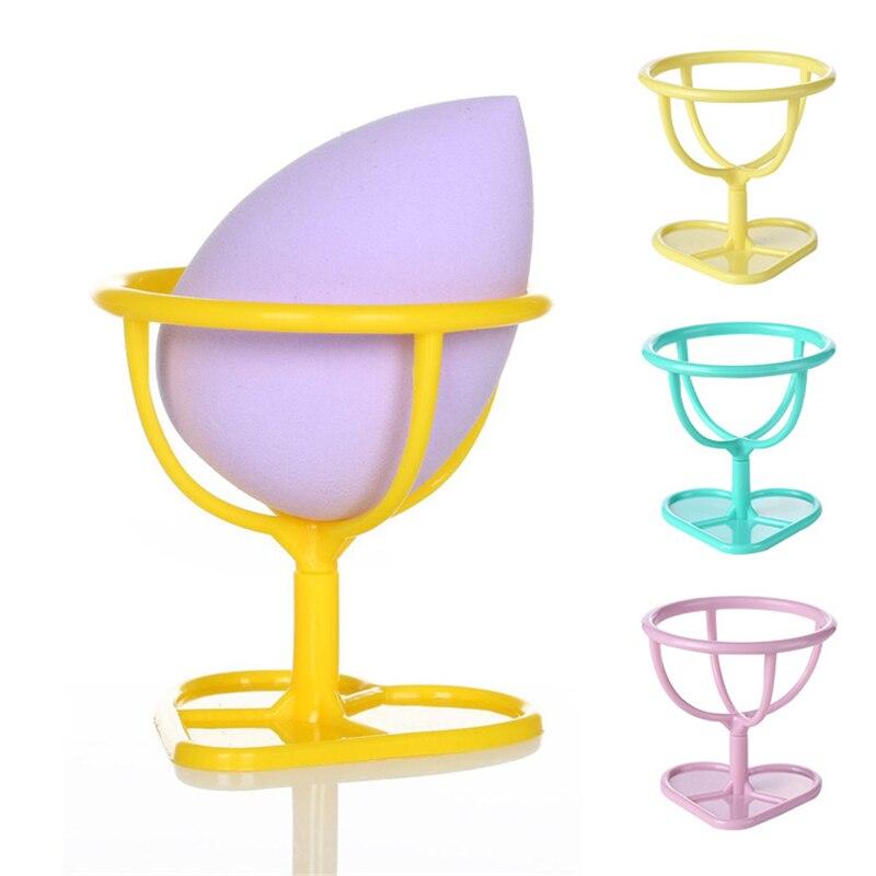 Многоцветная косметическая пудра для яиц, губка для пудры, подставка для высыхания, держатель для косметики, подставка для хранения губки