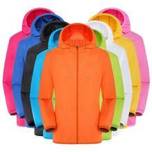 Mens Women Casual Jackets Windproof Ultra-Light Rainproof Windbreaker Top Riding Tops Sun Protection Clothing