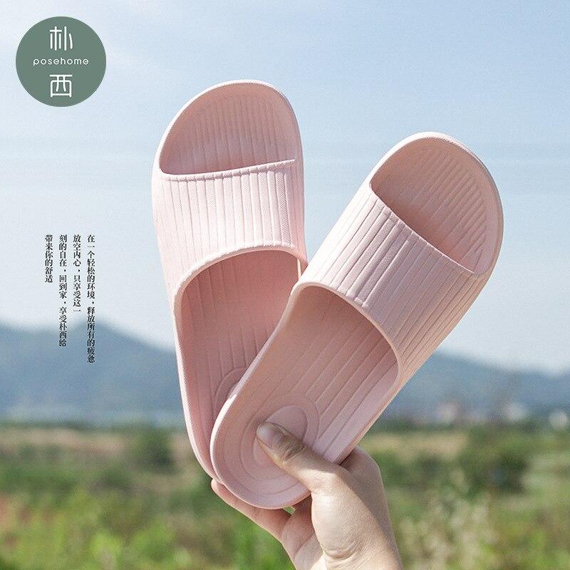 Women's Slippers Summer Fashion Flip Flops Summer Flower Clip Toe Flip Flops Non-Slip Wedges Beach Slippers Y9Y090A13