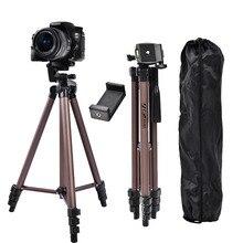 FOSOTO WT3130 Профессиональный алюминиевый мини штатив Трипод для камеры штатив с держателем для смартфона для DSLR камеры телефона смартфона