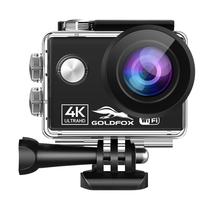 Action Camera Ultra HD 4K 60fps WiFi 24MP 2.0 Inch 170D Underwater Go Waterproof Pro Helmet Video Recording Camera Sport Cam