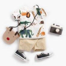 Комплект детской одежды biniduckling футболка с короткими рукавами