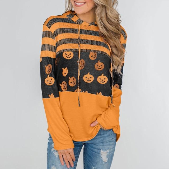 Women Pumpkin T Shirt  1