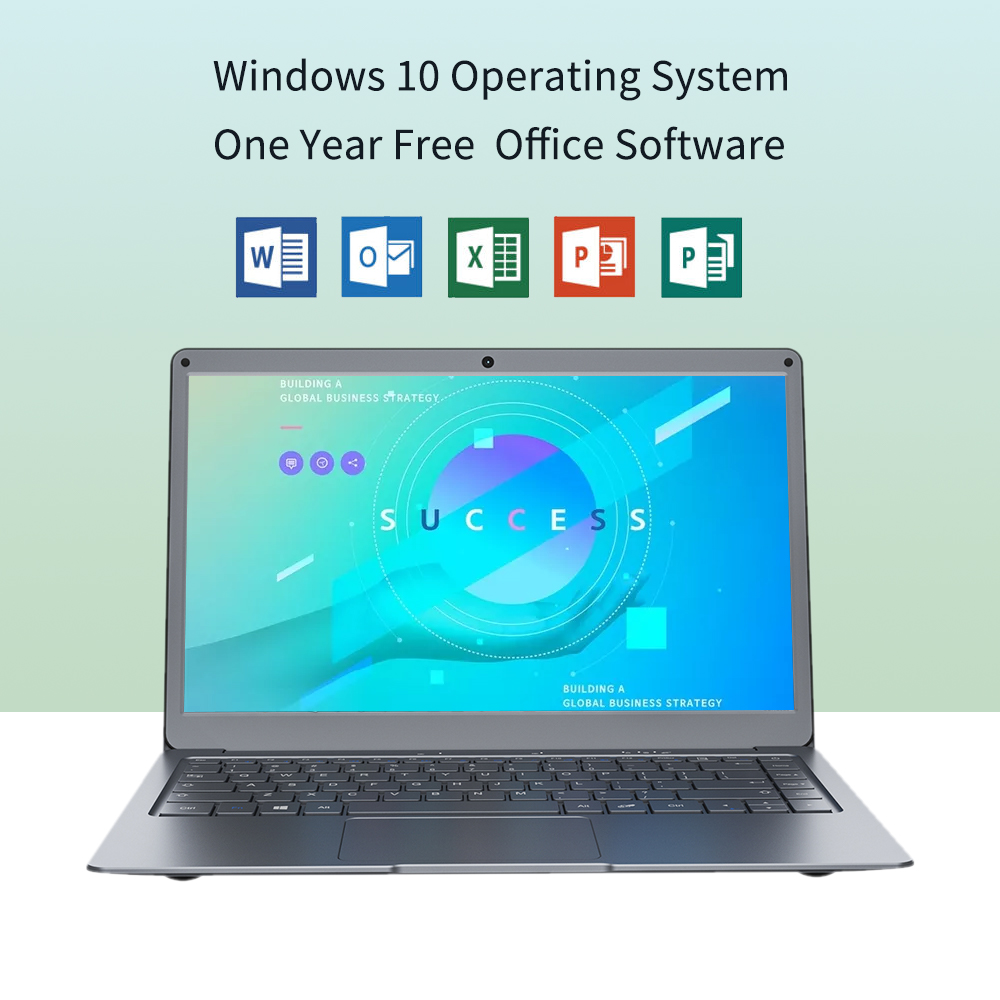 NEW Jumper EZbook X3 4GB 64GB Win10 Notebook 13.3 inch 1920*1080 IPS Screen Intel N3350 laptop 2.4G/5G WiFi With Office 365-5