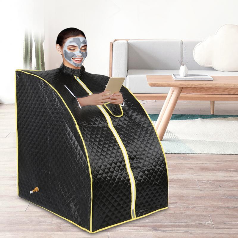 Portable Therapeutic Steam Sauna Spa Full Body Slim Detox Weight Loss Indoor